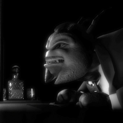 Cool Noir style animated commercial for... of all things, a pest control company! Nice lighting and a good example of a simple idea executed well.
