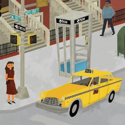 The Buenos Aires based illustrator Max Dalton is about to release a picture book for children with Peter Ackerman. Gorgeous mid-century style images preview on his blog. Can't wait to get my hands on this book!