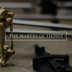 The Makers of Things documents the work and workshops of the Society for Model and Experimental Engineers. From experimental tinkerers to woodworkers and librarians, brought together in South London.
