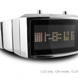 Tokyoflash have just released the latest distinctive wrist watch in its ongoing quest to bring us some of the most novel digital watches out there