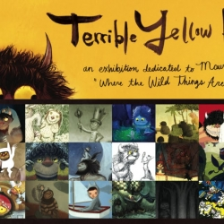 'Terrible Yellow Eyes,' a collection of art inspired by Maurice Sendak's, 'Where the Wild Things Are' has spawned an exhibition at the Nucleus Gallery in Los Angeles.