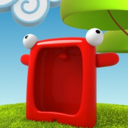 Grumpy and noisy, Carl now lives in your iPhone for the greatest pleasure of kids of any ages.