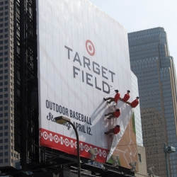 Video displaying the installation of the 3 new ad structures surrounding Target Field, Minnesota's brand new outdoor arena. The ads use 3-D props to draw attention to the space and create a buzz around the Twins new outdoor home. By CBS Outdoor.