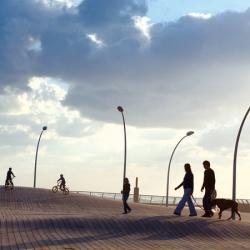 Distinctive development by Mayslits Kassif Architects recreates Tel Aviv Port as a vibrant public sphere.