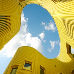 Tellus nursery school in Sweden by Stockholm based architecture firm Tham & Videgård Arkitekter.