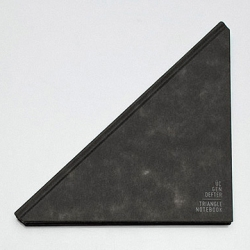 Gorgeous Triangle Notebook designed by Tan Mavitan.