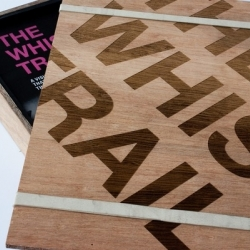 With a gorgeous laser-cut wooden case for the book, The Whisky Trail by Liam Bonar is a beautifully documented resource on the heritage of whisky culture in Scotland.