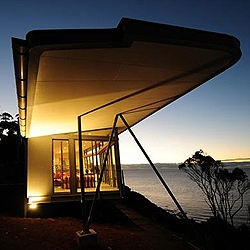 The Winged House (Dempster House), Table Cape, Tasmania designed by Richard Goodwin.