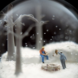Mayhem and Chaos in Snow Globes and On Islands