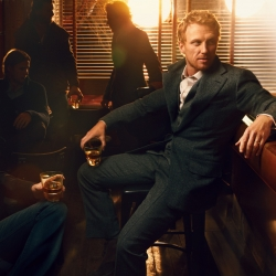The Macallan Masters of Photography latest -  Annie Leibovitz! Shot against dramatic backdrops in and around New York City, Annie Leibovitz's images feature renowned Scottish actor Kevin McKidd.