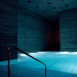 Therme Vals Spa in Switzerland-one of the finest building by 2009 Pritzker Prize winner, Peter Zumthor  back in 1996 while he was still unknown to the architectural public.