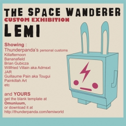 THE SPACE WANDERER : Custom Exhibition