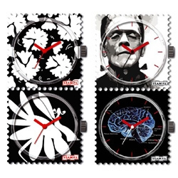 STAMPS , cool little mashup of a watch and a limited edition stamp. sold in packs of 2.