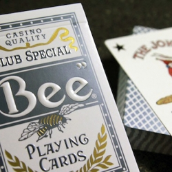 The Bee Titanium Editions is a special edition series from theory11 based on the traditional designs. Utilizing metallic inks that radiate light in a subtle manner, and embossed lettering - the deck oozes quality.