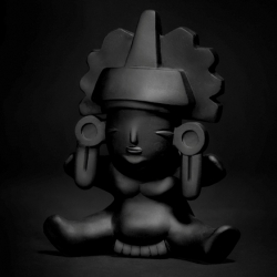 Tixindos, toy series concept by the graphic design team of Tixinda Mexico.