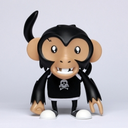 Illustrator Tizieu and toy galley Le Lab have recently collaborated to create a limited edition of designer toys.