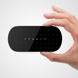 Toggle: Tomorrow's Remote for Today's TV uses an innovative application of capacitive touch technology to deliver a low, cost, multi-mode touch remote.