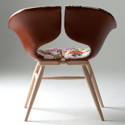 Tortie Hoare's  cool ideas for leather furniture.
