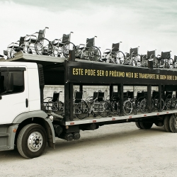 This can be your next vehicle if you drink and drive. A campaign from Ageisobar Sao Paulo.