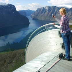 In 2005, Norway initiated a massive 15-year agenda to generate more tourism. The government turned to architects and designers to create tourist routes and rest stops to enhance the experience of the stunning landscape.