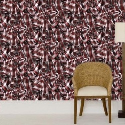 The Vivienne Westwood for Cole & Son wallpapers are all based on signature designs from her fashion collections
