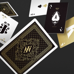 Two limited-edition decks of playing cards inspired by the magical and surreal world of Alice in Wonderland.