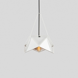 U32-1 introduces the U32 line for LampsLite. Constructed entirely from metal, U32-1 explores the concept of modern lighting, taking heavily from contemporary urban trends; particularly the tension and structure of the modern city landscape.