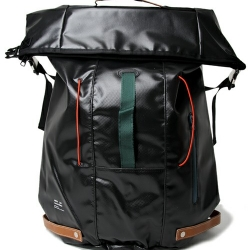 Undercoverism backpacks are made up of a mixture of leather, polyurethane, and nylon material.