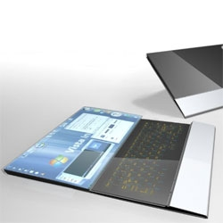 Compenion - by Felix Schmidberger, is a concept laptop featuring two OLED for a complete touch sensitive laptop experience.