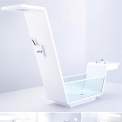 Us Together shower/bathtub, sink/bathtub, combos - the types of pieces you design a bathtub around