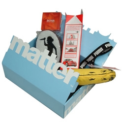 """Get Free Matter! Last chance to get in on the first """"MatterBox"""" ~ a collaboration between Artomatic and the Royal Mail"""