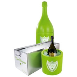 Another one for the magnum boys of club land... Marc Newson designed ice bucket... very svelte indeed, and exclusive.  Designed for Dom Perignon (LVMH)