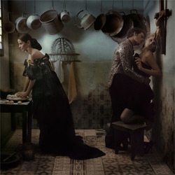 """Eugenio Recuenco is considered as one of the most creative Spanish fashion photographers. The creative departments often define his style as """"cinematographic"""" or """"pictorial"""". [Editor's Note: WOW. also see 3248]"""