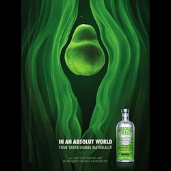 "I'm a bit unclear what this ""Streams"" campaign for absolut by TBWAChiatDay, NY is trying to say, but everyone i've shown it to seems to think one thing..."