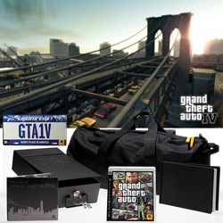 Grand Theft Auto IV Special Edition - comes with lots of goodies encased in a safe deposit box, with limited edition art book, soundtrack and more!