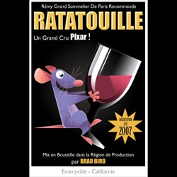 Wow Stephane Kardos's 50's style posters for Ratatouille are so much more fun than the ones up everywhere!