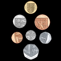 The Royal Mint has unveiled a new set of coins that will be released in the UK - designed by 26-year-old graphic designer, Matthew Dent