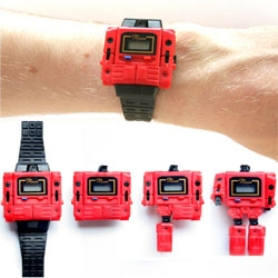 Awesome retro transformers watch ~ where he really pops off the watch!