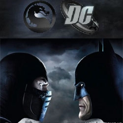 WOW. Mortal Kombat.... with DC? Sub-Zero fights Batman in the trailer. Consider my mind blown... Mortal Kombat VS. DC Universe