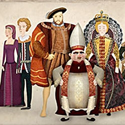 True Facts from Tudor England - adorable mini site for showtime's season 2 of The Tudors - check out these directors cuts of all the shorts... too funny.