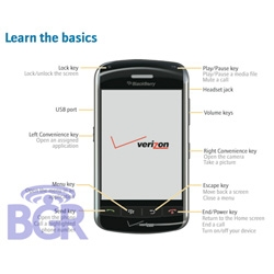 Oooh Boy Genius Report got a sneak peek for us of the Blackberry Thunder!
