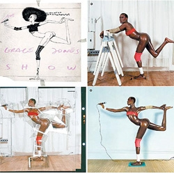 "I can hear it now... ""back in my day, before there was photoshop... this is how they made impossible images a reality!"" See how this incredible image of Grace Jones was created..."