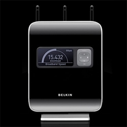 Got hands on with Belkin's N1 router, and the user experience really is something different from most i've encountered... we even got you a sneak peek at the packaging for it!
