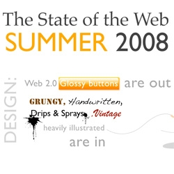 The Web in Summer 2008 ~ here's a beautiful and cheeky (yet accurate!) walk through of the state of the web this summer! by Matthew Inman of 0at.org