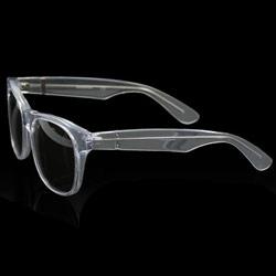 Love the new transparent colorway of Italian retro sunglass brand Super!