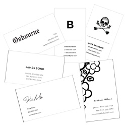 250 letterpress biz cards for under $100. Cool thinking from Mandate Press. (and apart from this, their custom work is pretty sexy too.)