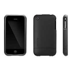 Ooooh ~ turn that iphone 3G matte black! New slider cases from incase just dropped ~ there's also gloss white, and more colorways coming in the future