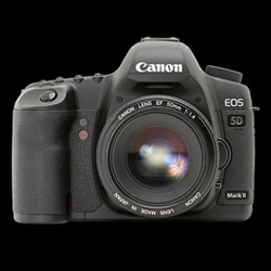 For the full break down of the upcoming Canon EOS 5D Mark II ~ dpreview has pages and pages of details!
