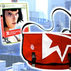 Mirror's Edge ~ which came first... the in game bag or the limited edition Timbuk2 bag collector's edition that matches?
