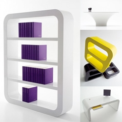 Cool and clean furniture by the autodidact designer Peter Petersen and his company Signalement.